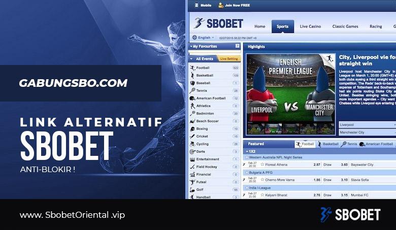Link Alternatif SBOBET Gabungsbo