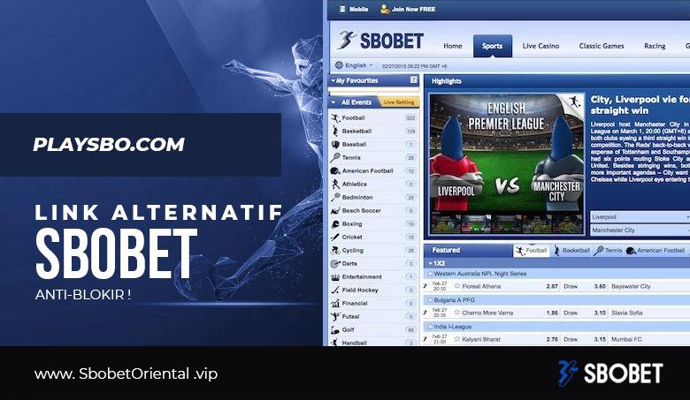 Link Alternatif SBOBET Playsbo